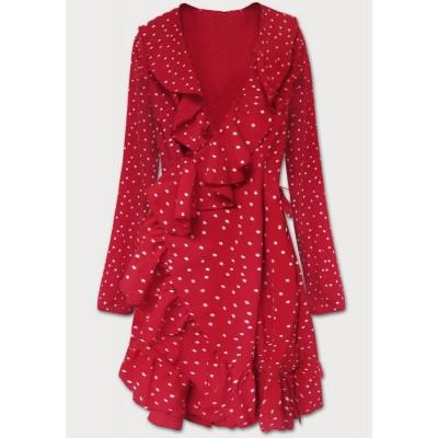 Dámske šaty červené (607ART)