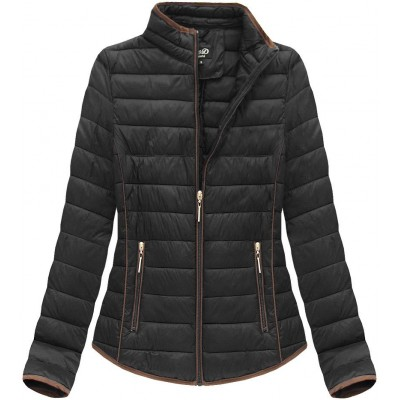 Dámska jarná bunda čierna (7088)