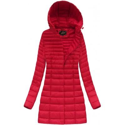 1c377c408de6 Dámska prechodná bunda červená (7240)