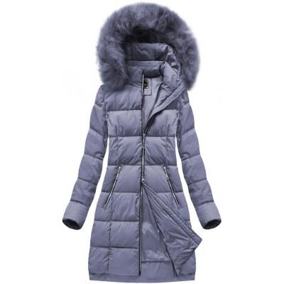 Dámska zimná bunda MODA702 fialová (7702)