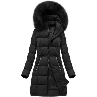 Dámska zimná bunda MODA702 čierna (7702)