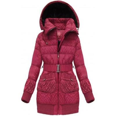 Teplá dlhšia dámska zimná bunda (J6311W)