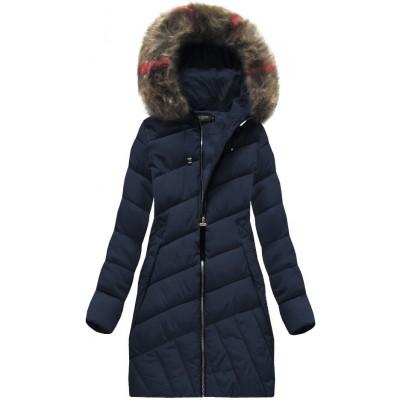 Dámska zimná bunda modrá (BH-1849)