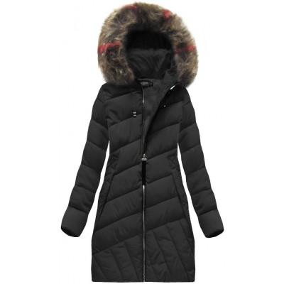 Dámska zimná bunda čierna (BH-1849)