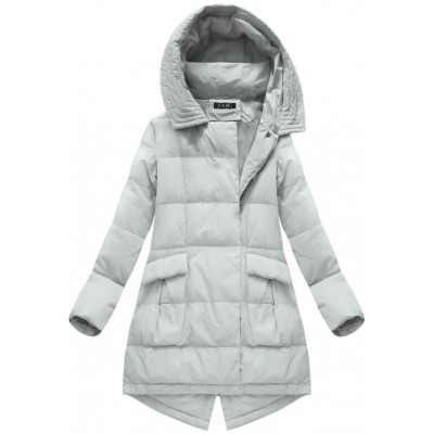 Dámska zimná bunda šedá (7111)