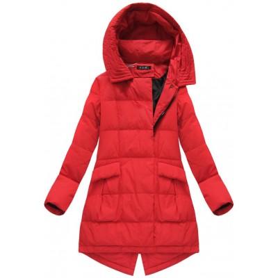 Dámska zimná bunda červená (7111)