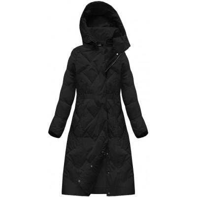 Dámska zimná bunda čierna (7119)
