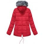 Dámska zimná bunda červená (YB917)