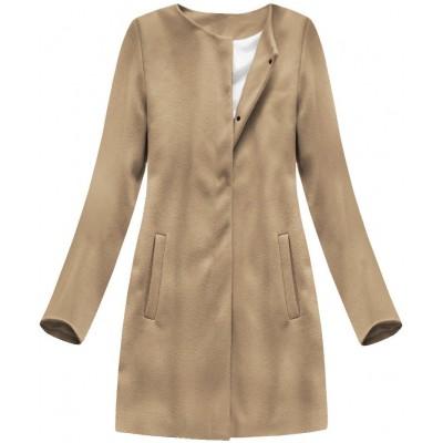 Dámsky kabát svetlohnedý (172ART)