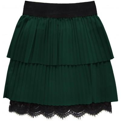 Dámska plisovaná sukňa zelená (18922)