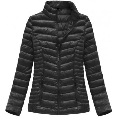 Dámska jarná bunda šedá (B2605)
