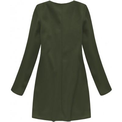 Dámsky kabát khaki (172/1ART)