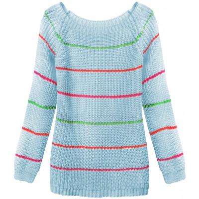 Dámsky sveter modrý (275ART)