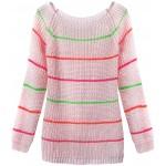 Dámsky sveter ružový (275ART)