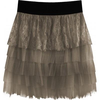 Dámska sukňa kakaová (312ART)