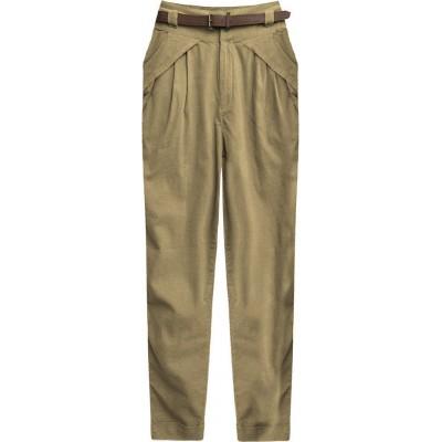 Dámske elegantné nohavice béžové (2218)