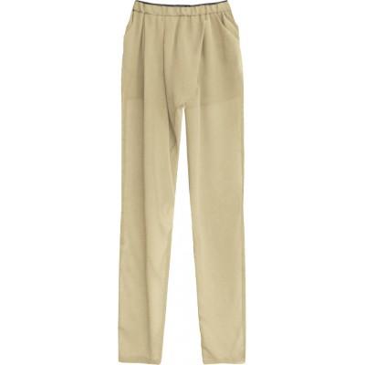 Dámske letné nohavice béžové (6151)