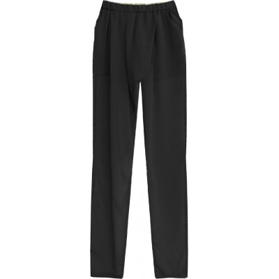 Dámske letné nohavice čierne (6151)