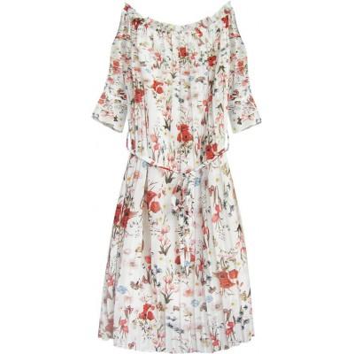 Dámske šaty biele (350ART)