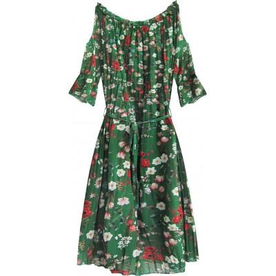 Dámske šaty zelené (350ART)