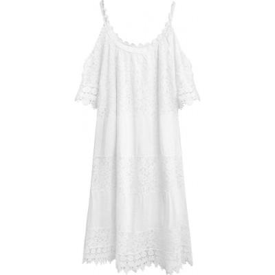 Dámske šaty biele (349ART)