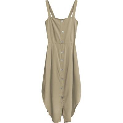 Dámske šaty béžové (394ART)