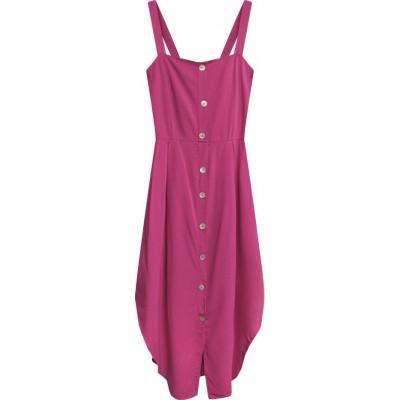 Dámske šaty cyklamenové (394ART)
