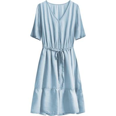 Dámske šaty modré (391ART)
