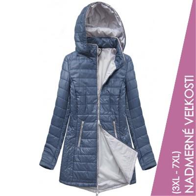 Dámska prechodná bunda modrá (B2622)
