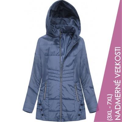 Dámska jesenná bunda modrá (B2626)
