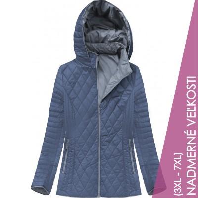 Dámska prechodná bunda modrá (B9508)