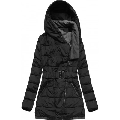 Dámska zimná bunda čierna (YB929)