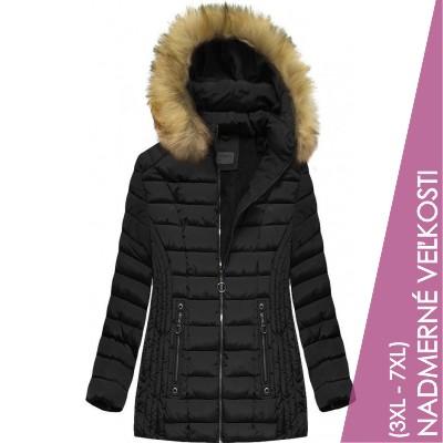 Dámska zimná bunda čierna (B2630-30)