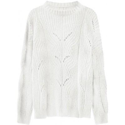 Dámsky sveter ecru (495ART)