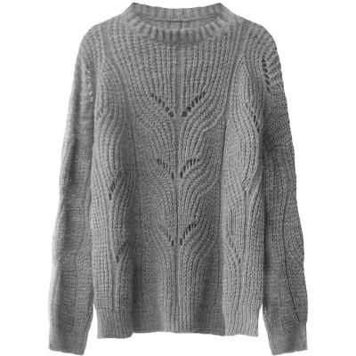Dámsky sveter šedý (495ART)