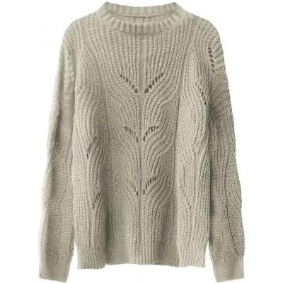 Dámsky sveter béžový (495ART)