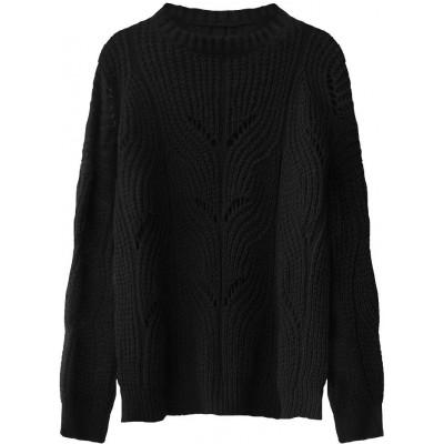 Dámsky sveter čierny (495ART)