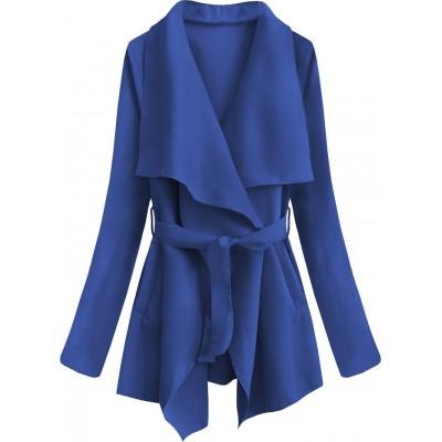 Dámsky jarný plášť modrý (553ART)
