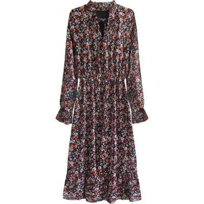 Dámske kvetované šaty (562ART)