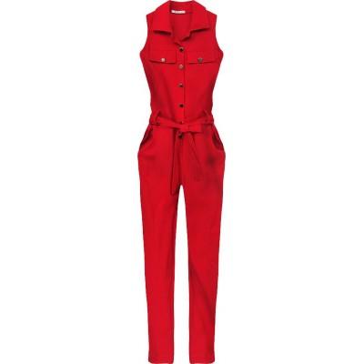 Elegantný dámsky overal červený (Z970)