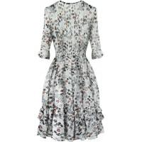 Dámske šifónové šaty biele (580ART)