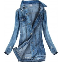 Dámska jeansová jarná bunda (5508)