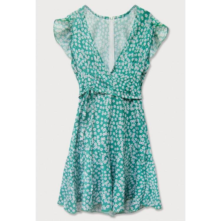 Dámske letné šaty zelené  (601ART)
