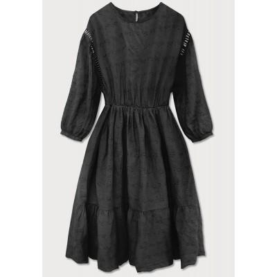 Dámske šaty čierne (615ART)