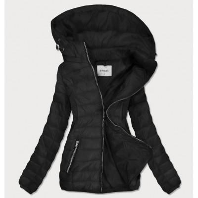 Dámska prechodná bunda čierna (B0106)