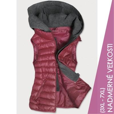 Dámska vesta ružová (B2704)