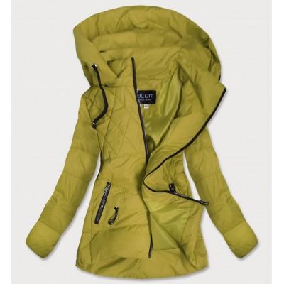Dámska jesenná bunda horčicová (905)