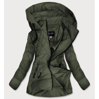 Dámska jesenná bunda khaki (905)
