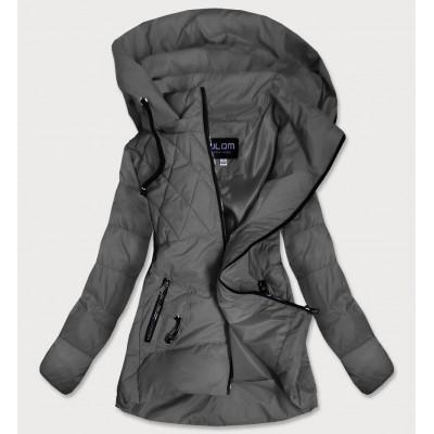 Dámska jesenná bunda tmavošedá (905)