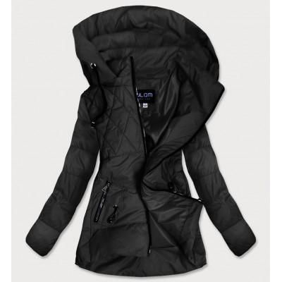 Dámska jesenná bunda čierna (905)